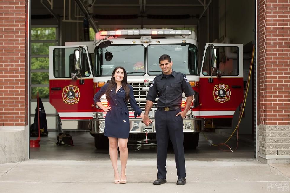 Firehall Fireman Engagement